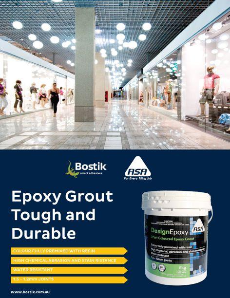 Design Epoxy grout by Bostik