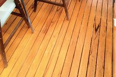 Sustainable timber decks