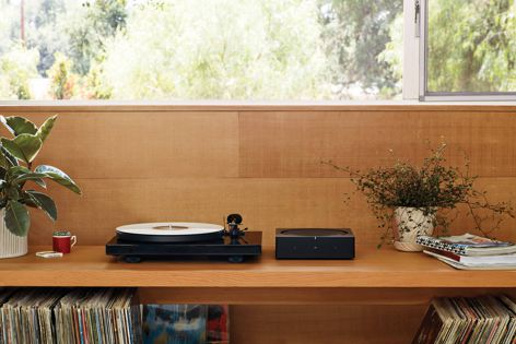 With the Sonos Amp audio hub, homeowners can enjoy their vinyl records from any room in the house.