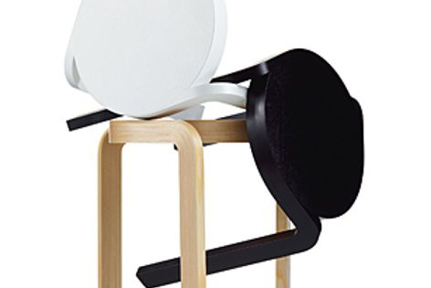 The Spinn stool is suitable for commercial, hospitality or public applications.
