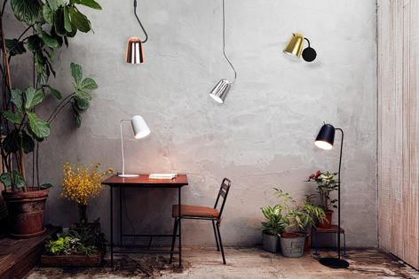 The Dobi and Dodo lights are a modern take on a classic shape.