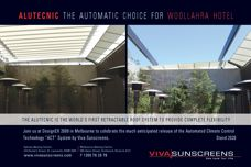 Viva Sunscreens Alutecnic roof