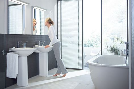 """Duravit's Darling New collection embraces the idea of """"plenty of design for little money."""""""