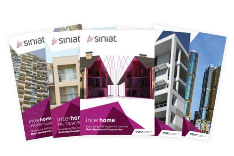 All plasterboard and steel products from Knauf Australia will now be produced with Siniat branding.