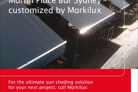 Markilux sun shading solutions