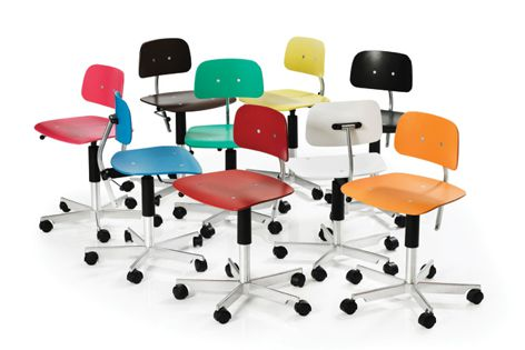 The Kevi chair is now available at Interstudio in a kaleidoscope of colours.