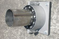 UGA external wall sleeve for pipe sealing