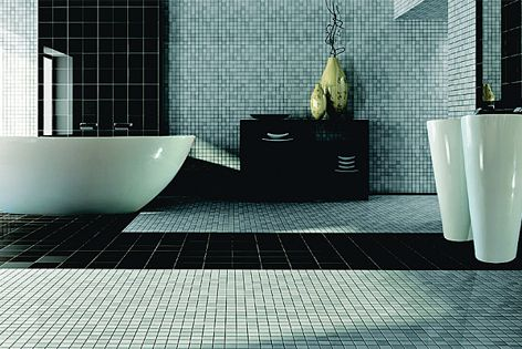 The Kamirro Stone range of bathware combines sophistication with practical features.