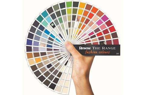 The Range Fashion Colours 20 includes weathered and dusky tones, earthy neutrals, new metallics and accents.