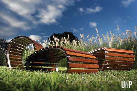 The Environ bench is one of over 100 products by Urban Art Projects.