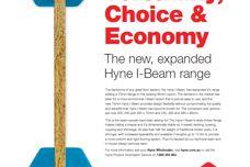 Hyne's expanded I-Beam range