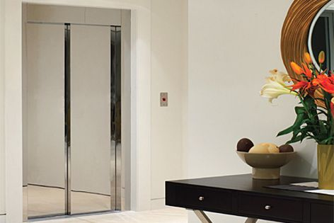 The stylish Domus Evolution lift is designed, engineered and made in Italy.