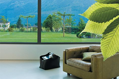Enerlogic window film is equivalent to double glazing but at a fraction of the cost.