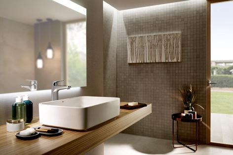 Clean and minimalistic, the Atlas collection is designed for the contemporary bathroom.