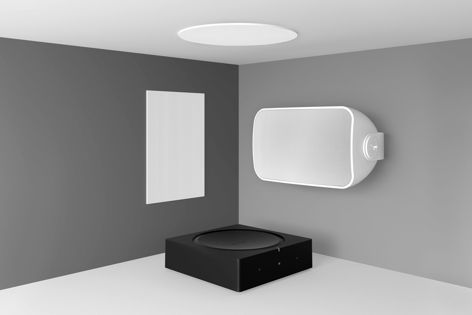 """Sonos Architectural by Sonance is a range of built-in speakers that """"disappear"""" into walls and ceilings."""