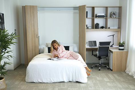 Pardo Australia's range of quality European Wall Bed products are available in single, double and queen sizes.