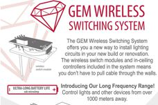 Wireless Switching System by Gem Lighting