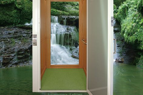Eco Hydro lift by Master Lifts