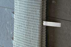 Arc heated towel rail