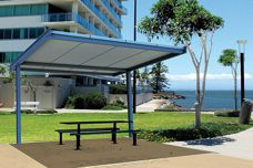King Cantilever Shelters from Landmark Products