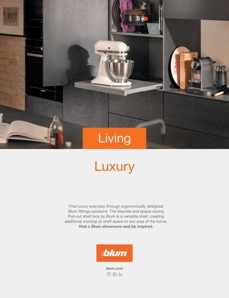Kitchen storage solutions by Blum