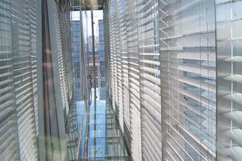 The tower at 1 Bligh Street, Sydney, will be installed with Horiso external Venetian blinds.