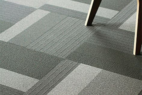 The Landscape range of carpet tiles is available in five different textures, patterns and weaves.