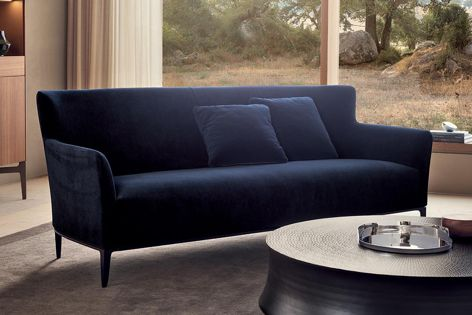 The Gentleman Friends sofa is available in a two- or three-seat model and was designed by Marcel Wanders to encourage conversation.