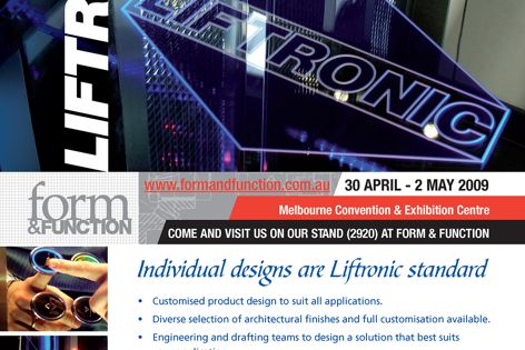 Liftronic lifts – individual designs