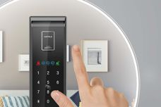 Digital door lock from Hafele