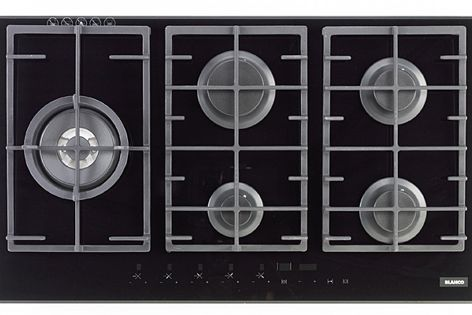 Gas on Glass cooktop by Blanco