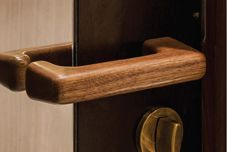 Timber door furniture by Tirar