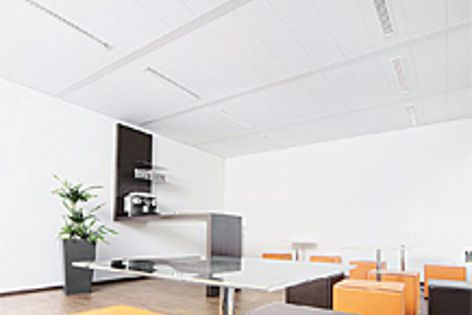 Knauf AMF's Acoustic range is ideal for applications such as offices and meeting spaces.