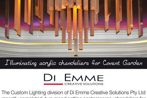 Di Emme custom lighting solutions