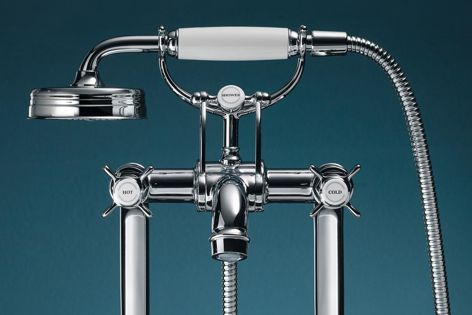 Belle Epoque details and high-quality craftsmanship define Axor tapware.