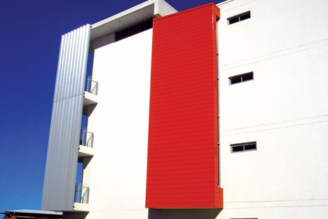 Ulltraclad has the look of traditional weatherboard without the maintenance.