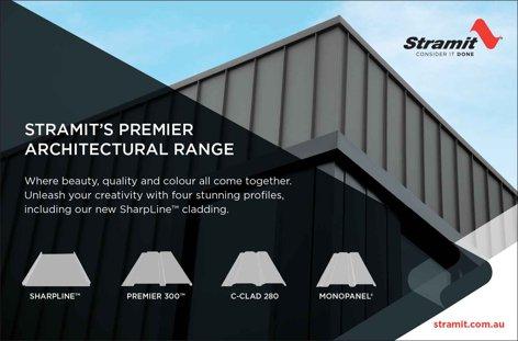 SharpLine cladding by Stramit