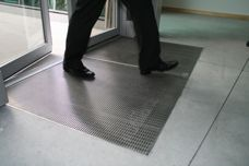 Stainless Steel drainage mats by Stormtech