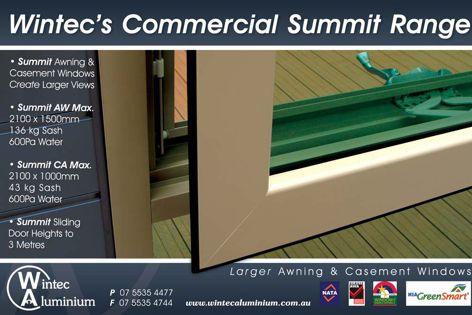 Wintec's commercial Summit range