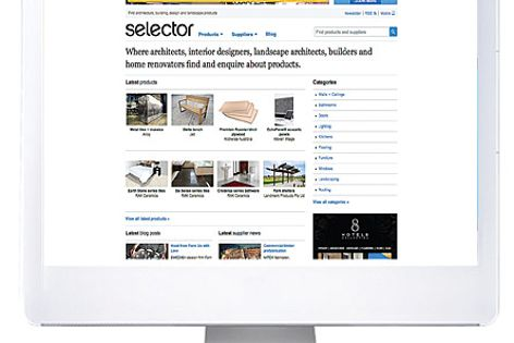 Selector.com provides access to a range of architecture, design and landscape products.