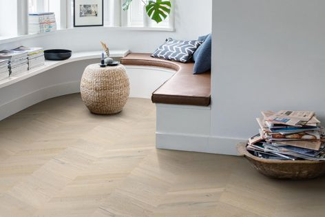 Quick-Step Timber is available in Intenso Merino Grey Oak.