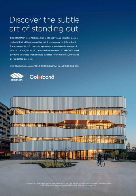 COLORBOND® steel Matt by BlueScope