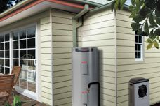 Rheem MPs – 325 heat pump for tight spaces