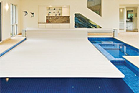Security Blanket's key-lock operating mechanism ensures that nobody enters the pool without consent.