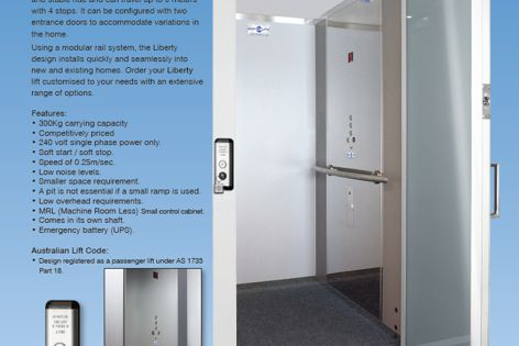 Liberty residential lift by Master Lifts