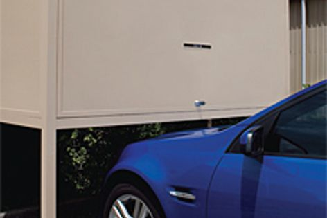 Sitting above bonnet height, the Help Safe storage system increases storage space.
