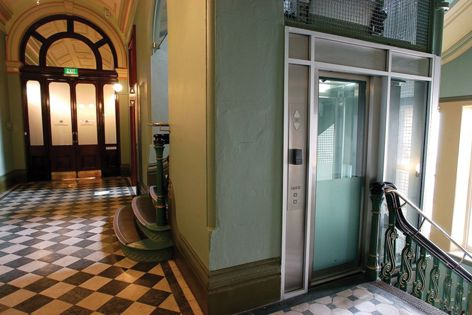 Liftronic lifts can be retro-fitted to heritage buildings.