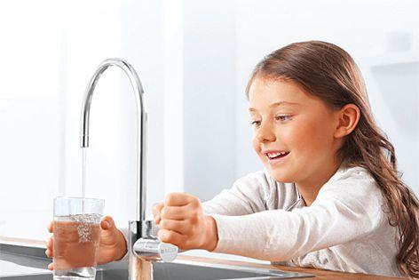 Under-sink water filtration by Brita