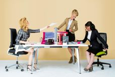 Workstations from Business Interiors by Staples