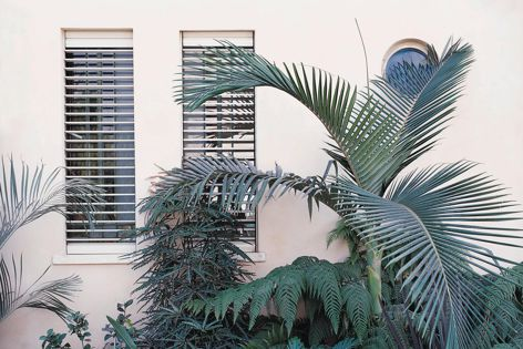 Blockout's Maxivent shutters protect windows during extreme weather, as well as help regulate temperatures inside the home.